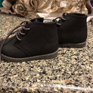 New Gymboree boys toddler black dress boots